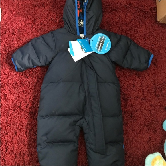597777f9c Columbia Jackets & Coats | Navy Blue Puffer Bunting Snow Suit | Poshmark